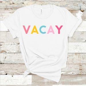 Vacay Shirt - Beach Lake Vacation Summer Graphic